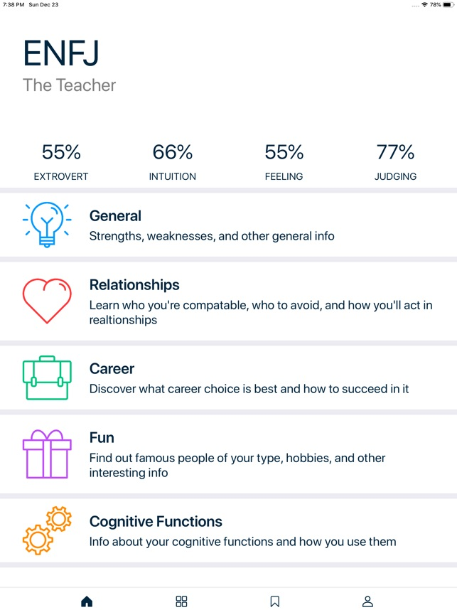 MB Personality Type on the App Store