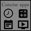 Concise apps