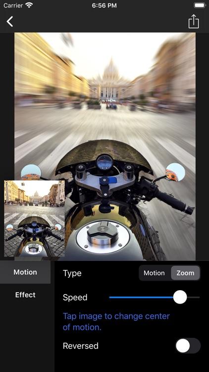 Motion Blur - Panning Photo screenshot-8
