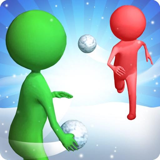 Snowballs fight