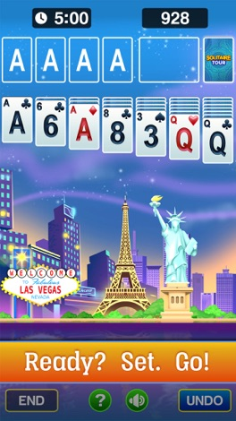 Solitaire Tour - Classic Cards screenshot for iPhone