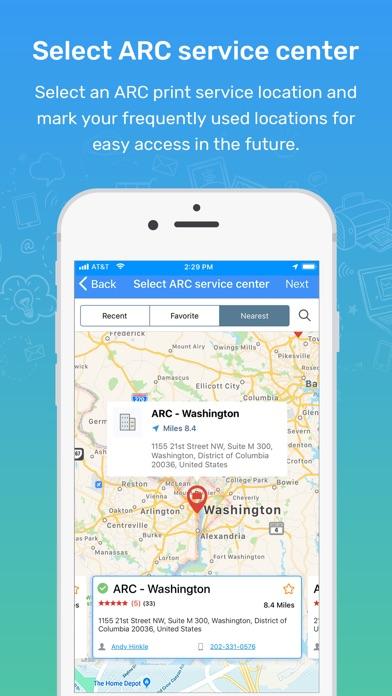 Screenshot for ARC Print in Saudi Arabia App Store