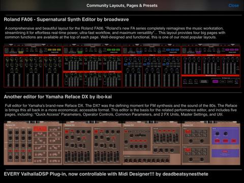 Screenshot #6 pour MIDI Designer Pro