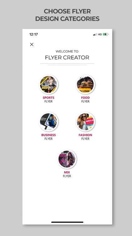 Poster Maker - Flyer Creator screenshot-4