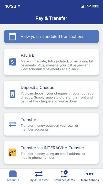 Polish Credit Union Mobile screenshot-3
