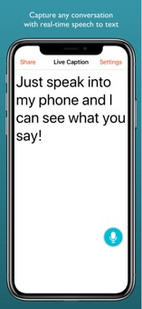 Caption app for iphone