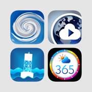 Weather Plus bundle: local and global weather forecast, storm tracks and climate data