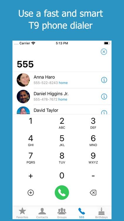ContactsXL + Favorites Widget screenshot-7