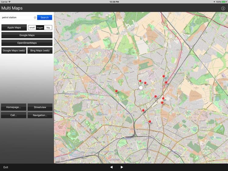 Multi Maps 4x