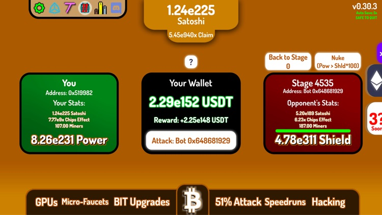 CryptoClickers: Idle Game screenshot-3