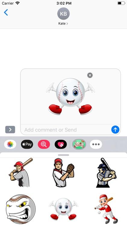 Baseball - Stickers Pack screenshot-7