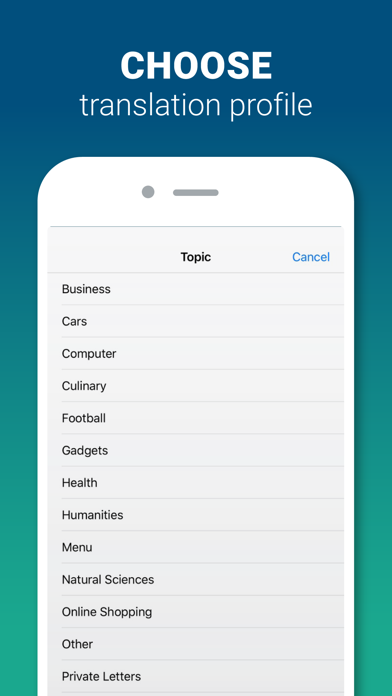 Screenshot for PROMT Translator Offline in New Zealand App Store