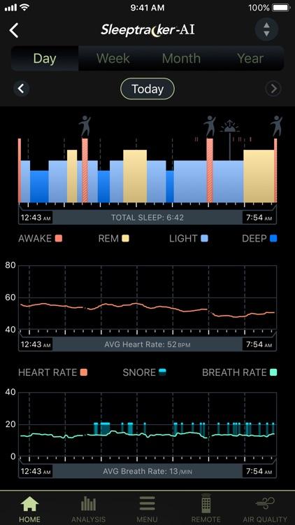 Tempur-Pedic® Sleeptracker®-AI screenshot-3