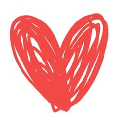 Heart & Love - stickers emojis