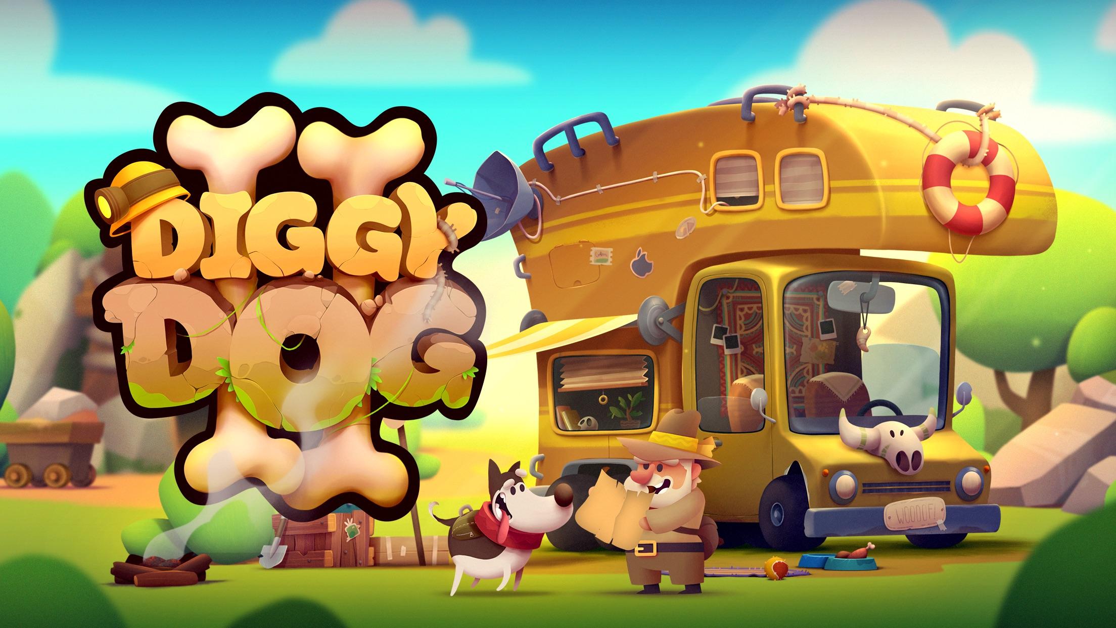 Screenshot do app My Diggy Dog 2