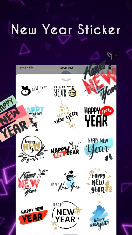 Happyy New Year Sticker screenshot-3