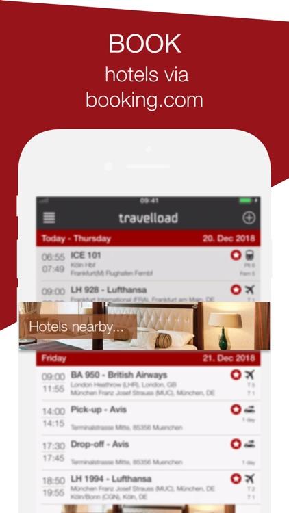 travelload itinerary manager screenshot-4