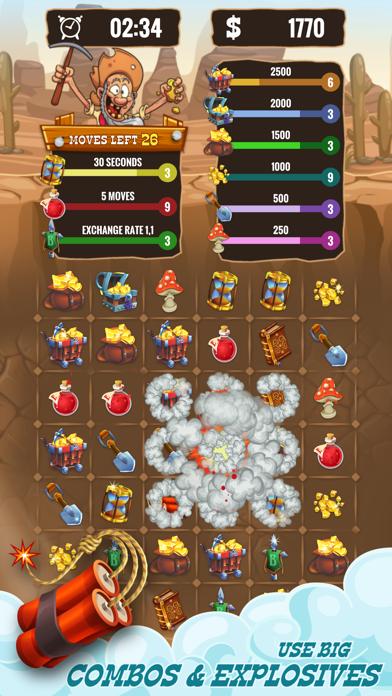 Gold Miner & Match 3 Tycoon screenshot 5