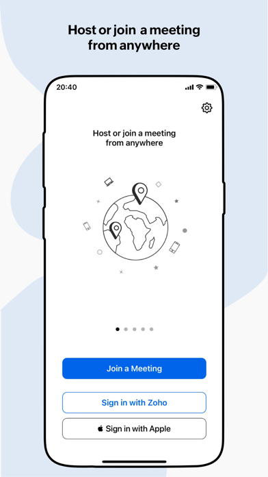 messages.download Zoho Meeting software