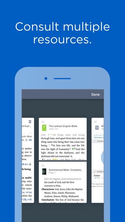 Logos Bible Study Tools screenshot-0