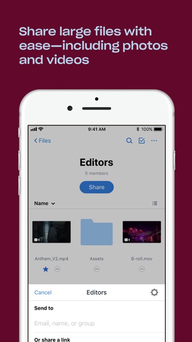 Screenshot for Dropbox in United States App Store