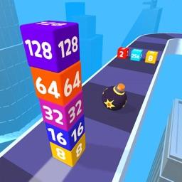 Merge Road Cube 2048