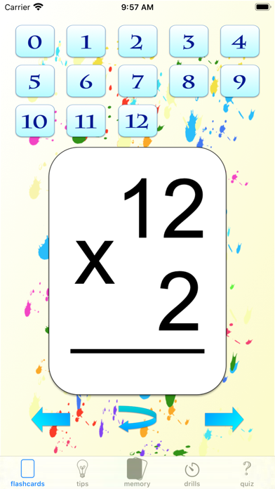 multiplication drills: X screenshot 5