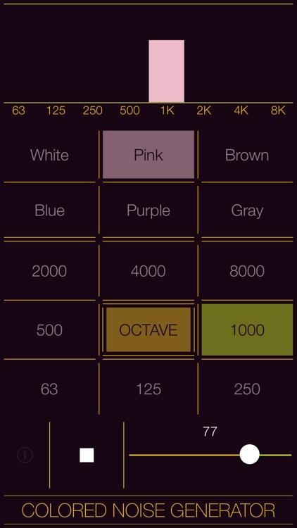 Colored Noise Generator screenshot-8