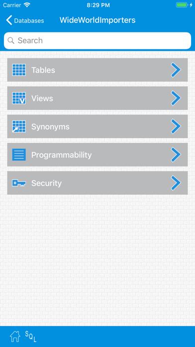 SqlWebProg2  Sql Server Client ScreenShot3