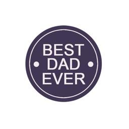 DADZ Father's Day Sticker Pack