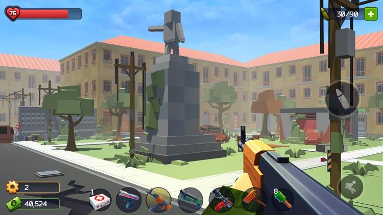 Pixel Combat: Zombie Games 3-D screenshot-6
