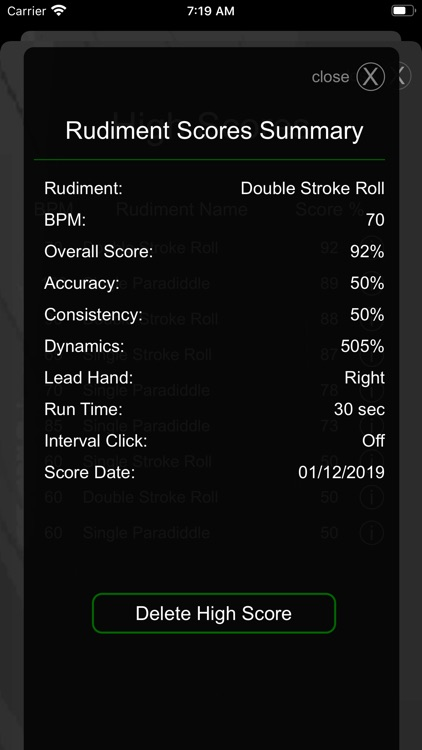 Drummer ITP - Rudiment Trainer screenshot-6
