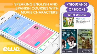 EWA: Learn English & Spanish Screenshot
