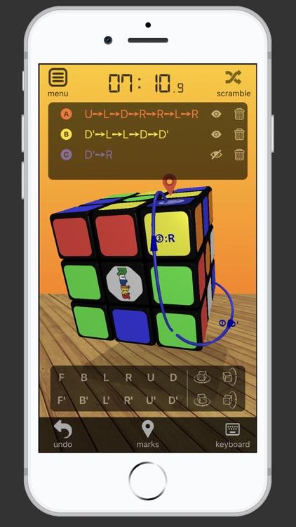 3D Rubik's Cube Solver screenshot-0