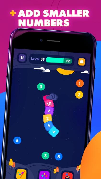 IQ Train -  Number Snake Game screenshot-4