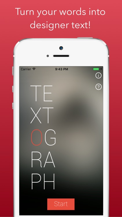 Textograph Pro: Text on Photo