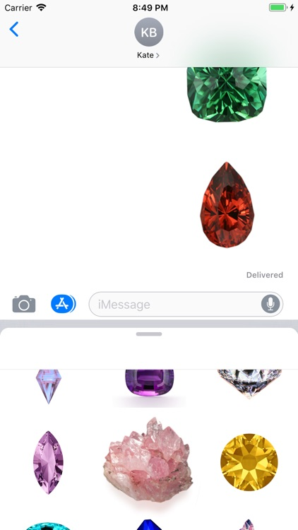 Amazing Gem Stickers screenshot-3