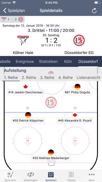 Screenshot for Hockeyweb - die Eishockey App in Germany App Store