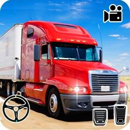 Pak Cargo Truck Driving Sim 3D