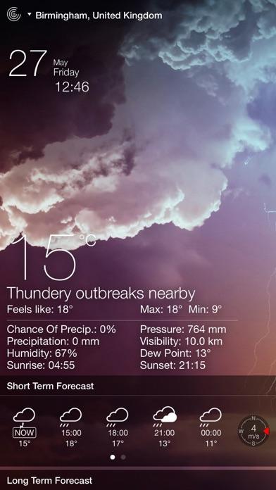 تحميل Weather Live° للكمبيوتر