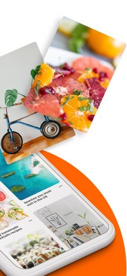 Pinterest app screenshot