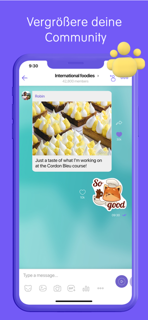 Viber Messenger: Video Anrufe Screenshot