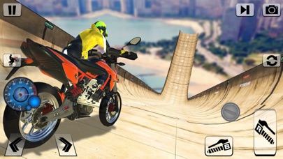 Impossible Bike Stunt Rider 3d screenshot two