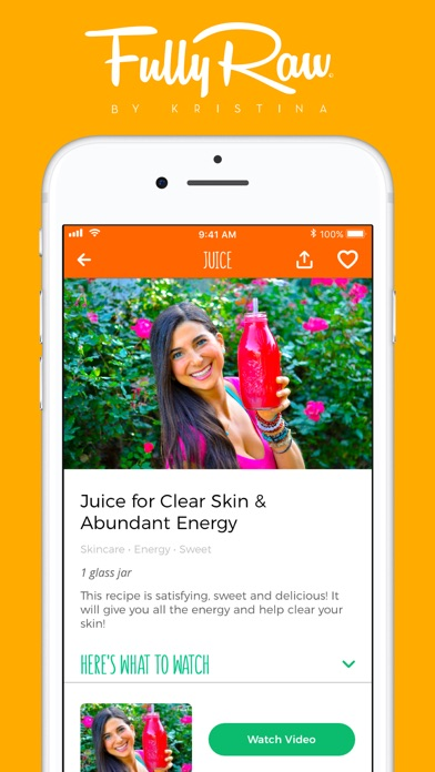 download FullyRaw by Kristina apps 4