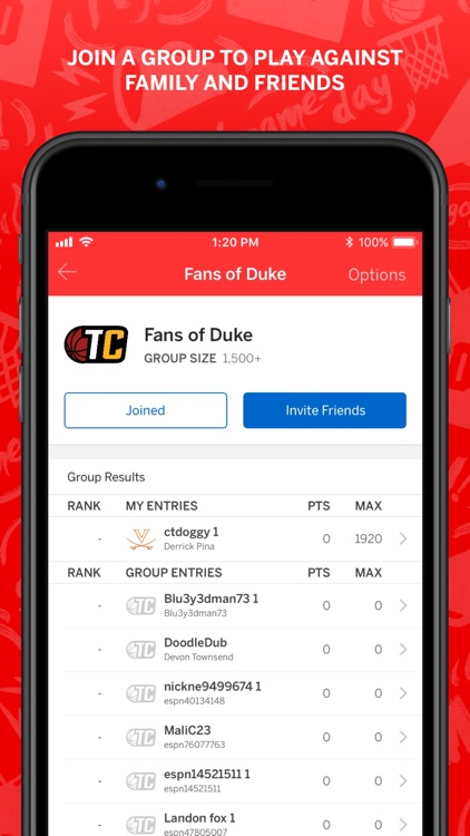 ESPN Tournament Challenge screenshot-5