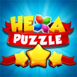 Super Hexa Block Puzzle 2019