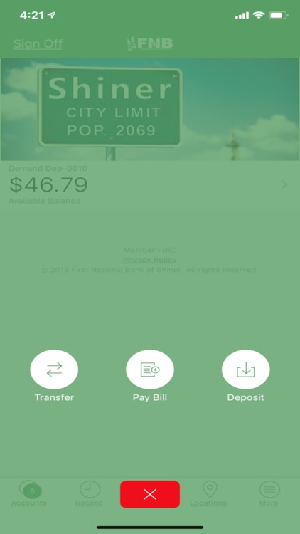 FNB Shiner Mobile screenshot-4