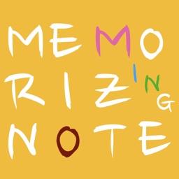 Memorizing Note : 外国語単語帳
