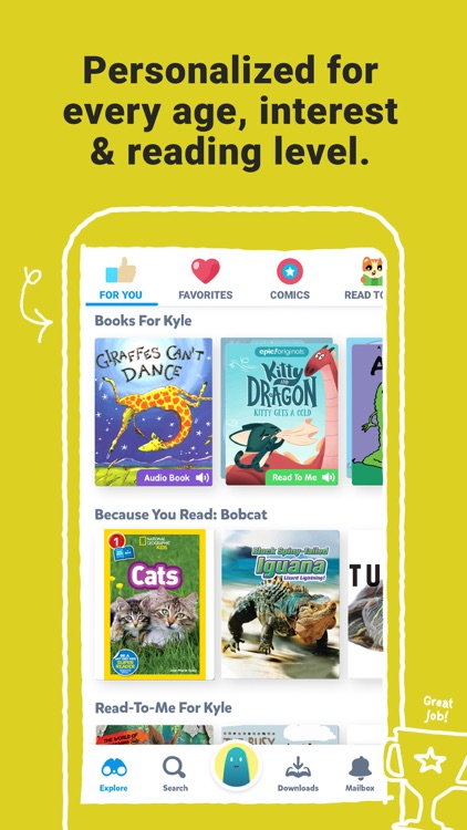 Epic - Kids' Books & Reading screenshot-4