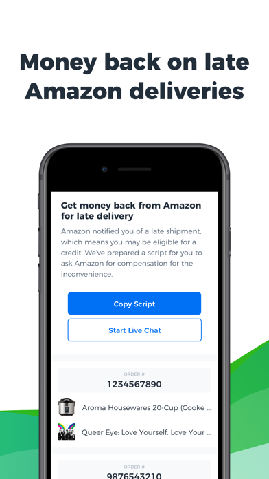 Earny: Money Back Savings App Screenshot